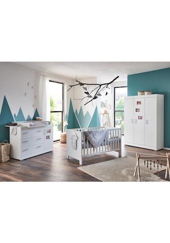 arthur berndt Babyzimmer-Komplettset »Marisa«, (Set, 3 St.), Made in Germany; mit... kaufen
