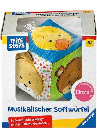 """Ravensburger Greifspielzeug """"ministeps® Musikalischer Softwürfel"""" kaufen"""