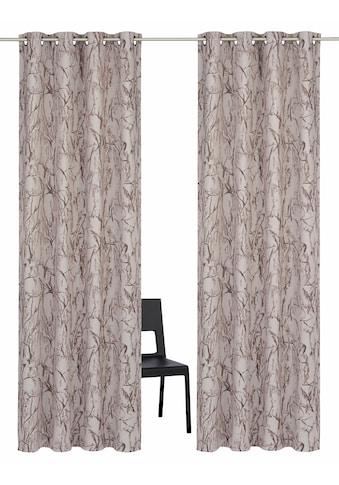 Vorhang, »Bamian«, my home, Ösen 2 Stück kaufen