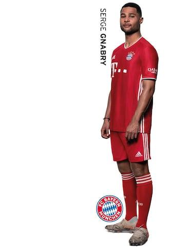 Wall-Art Wandtattoo »Sticker FCB Serge Gnabry« kaufen