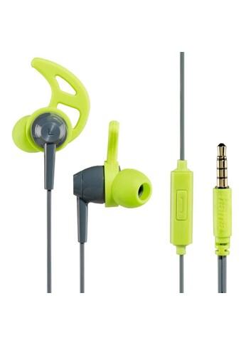 Hama In - Ear - Stereo - Ohrhörer Action, Grau/Grün kaufen