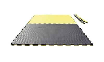 Ju-Sports Bodenmatte »Checker«, (1), schwarz/gelb kaufen