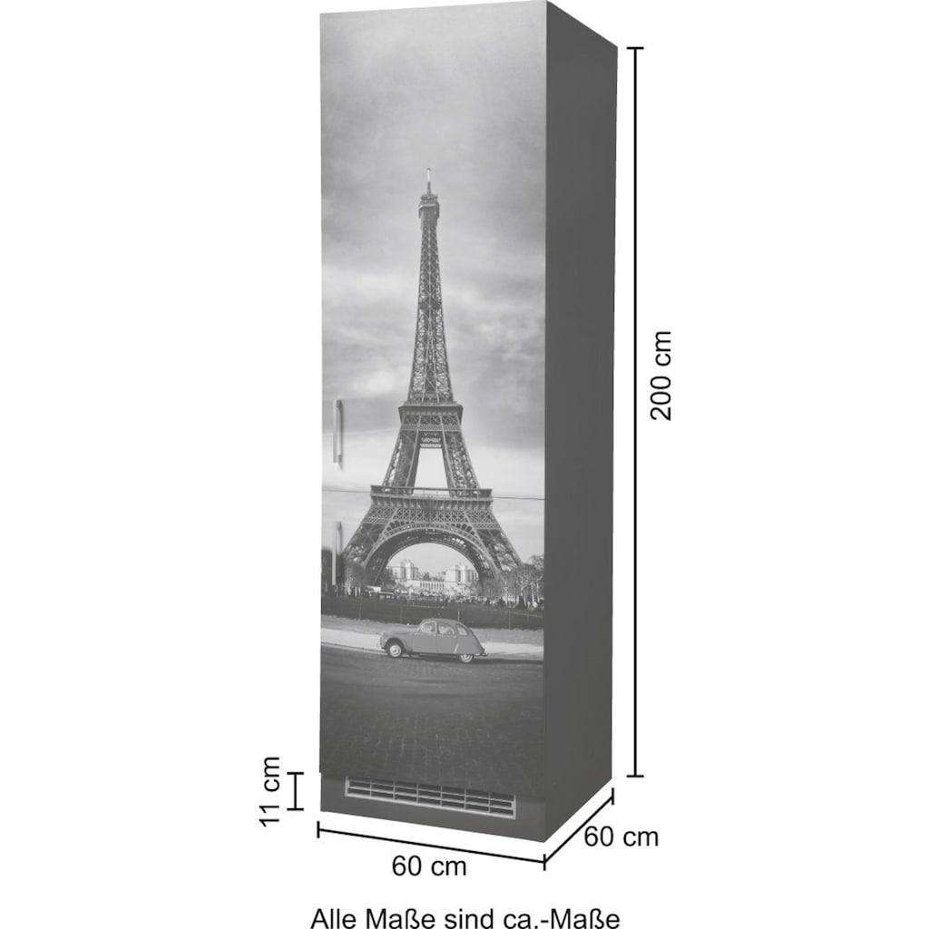HELD MÖBEL Kühlumbauschrank »Paris«, Breite 60 cm