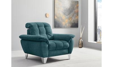 Places of Style Sessel »Bardi«, wahlweise mit Kopfteilverstellung, auch in Bezug Aqua... kaufen