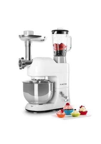 Klarstein Küchenmaschine Rührmaschine Fleischwolf Mixer 1200W 1,6 PS 5L »Lucia Bianca« kaufen
