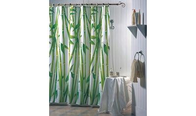 MSV Duschvorhang »Bambus«, Breite 180 cm, Höhe 200 cm kaufen