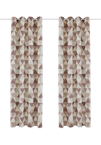 Vorhang, »Berlad«, Bruno Banani, Ösen 1 Stück kaufen