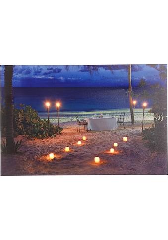 Home affaire LED-Bild »Strand«, 60/40 cm kaufen