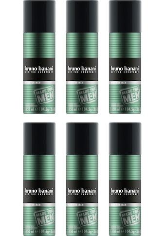 Bruno Banani Deo-Spray »Made for Men«, (Set, 6 tlg.) kaufen