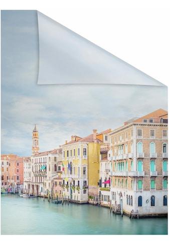 LICHTBLICK ORIGINAL Fensterfolie »Vendig«, 1 St., blickdicht, strukturiertKlebepunkte,... kaufen
