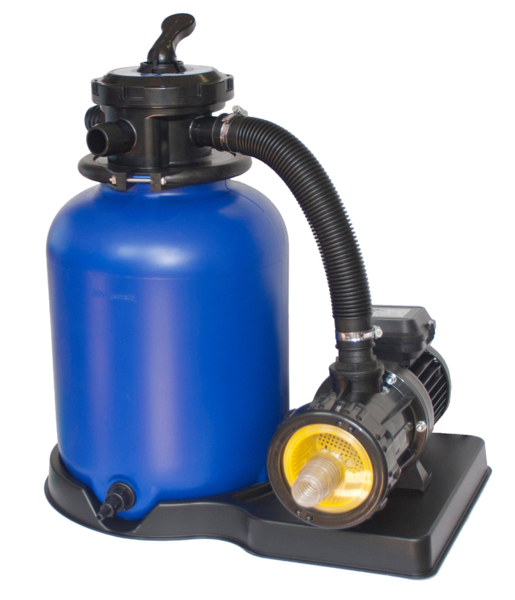 CLEAR POOL Sandfilteranlage »CP 2504« | Garten > Swimmingpools > Filteranlagen | Schwarz | Kunststoff | CLEAR POOL