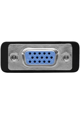 Goobay Analoger DVI - I/VGA »Adapter, vergoldet« kaufen