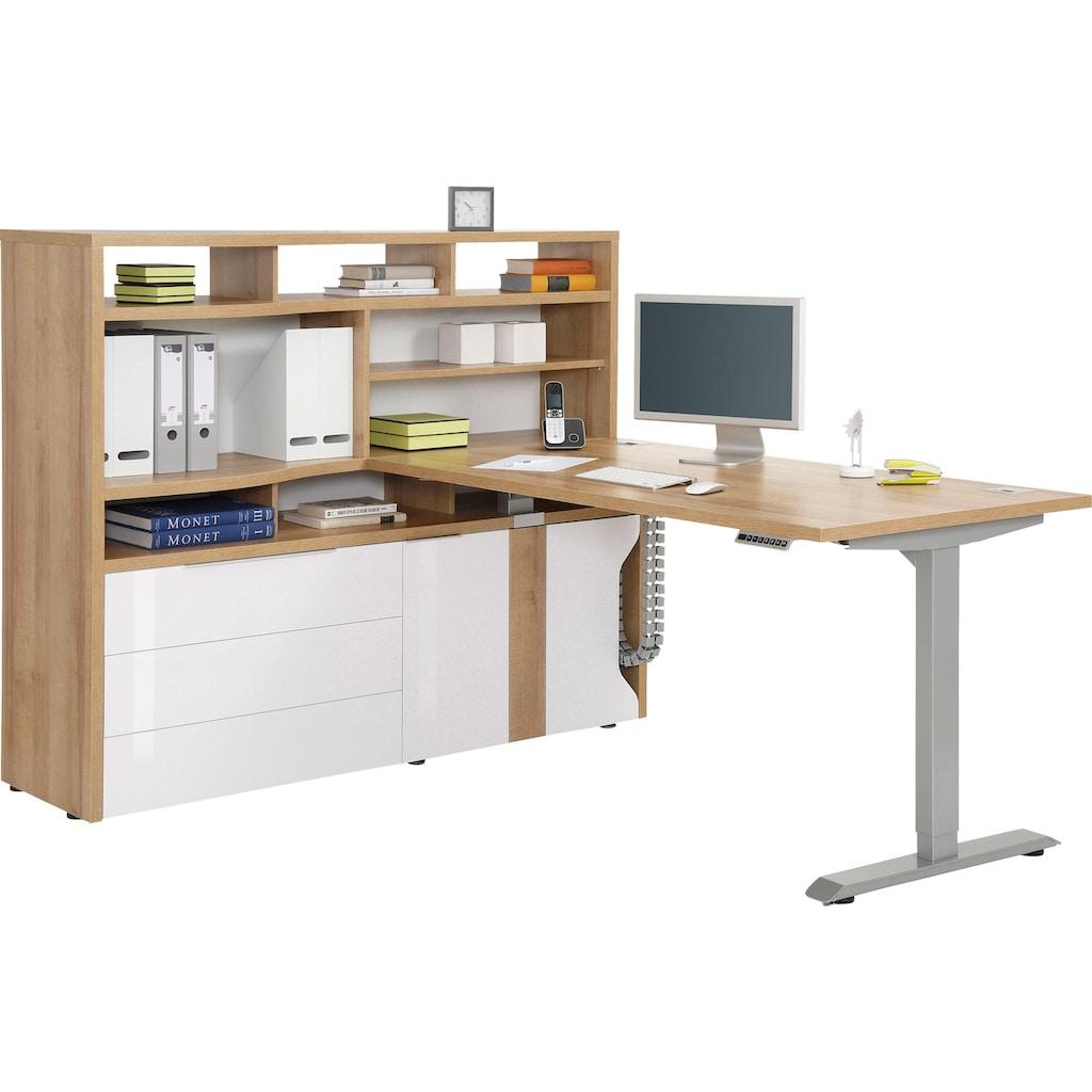 Maja Möbel Computerschrank »eDJUST MINIOFFICE 5508«, Nur in Kombination mit den eDJUST Schreibtischen 5504 oder 5507
