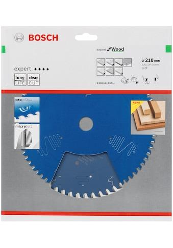 BOSCH Kreissägeblatt »Kreissägeblatt Expert for Wood«, 210 x 30 x 2,4 mm, 56 kaufen