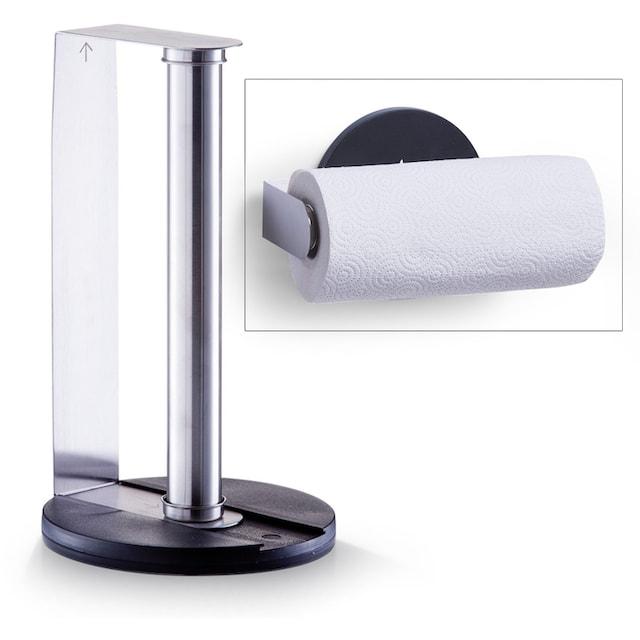 Zeller Present Küchenrollenhalter Edelstahl Kunststoff