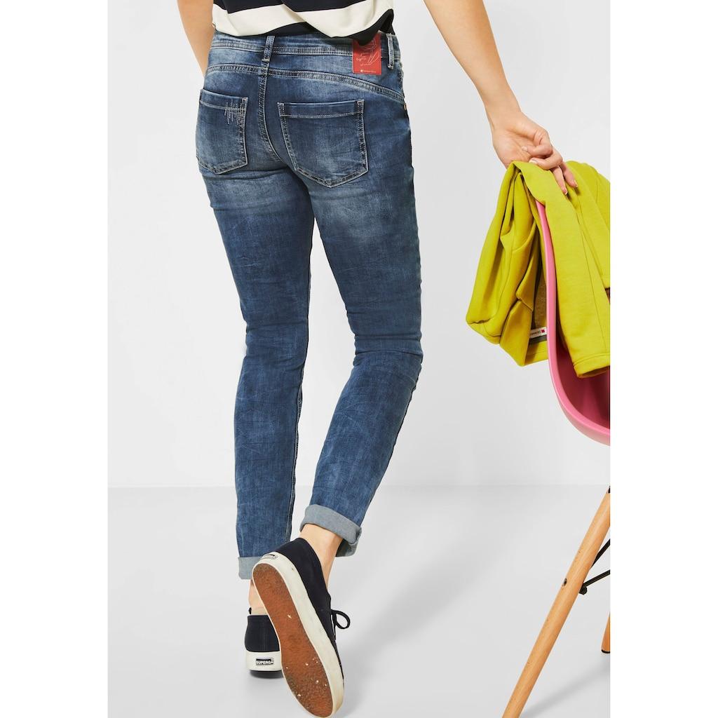 STREET ONE Slim-fit-Jeans »Crissi«