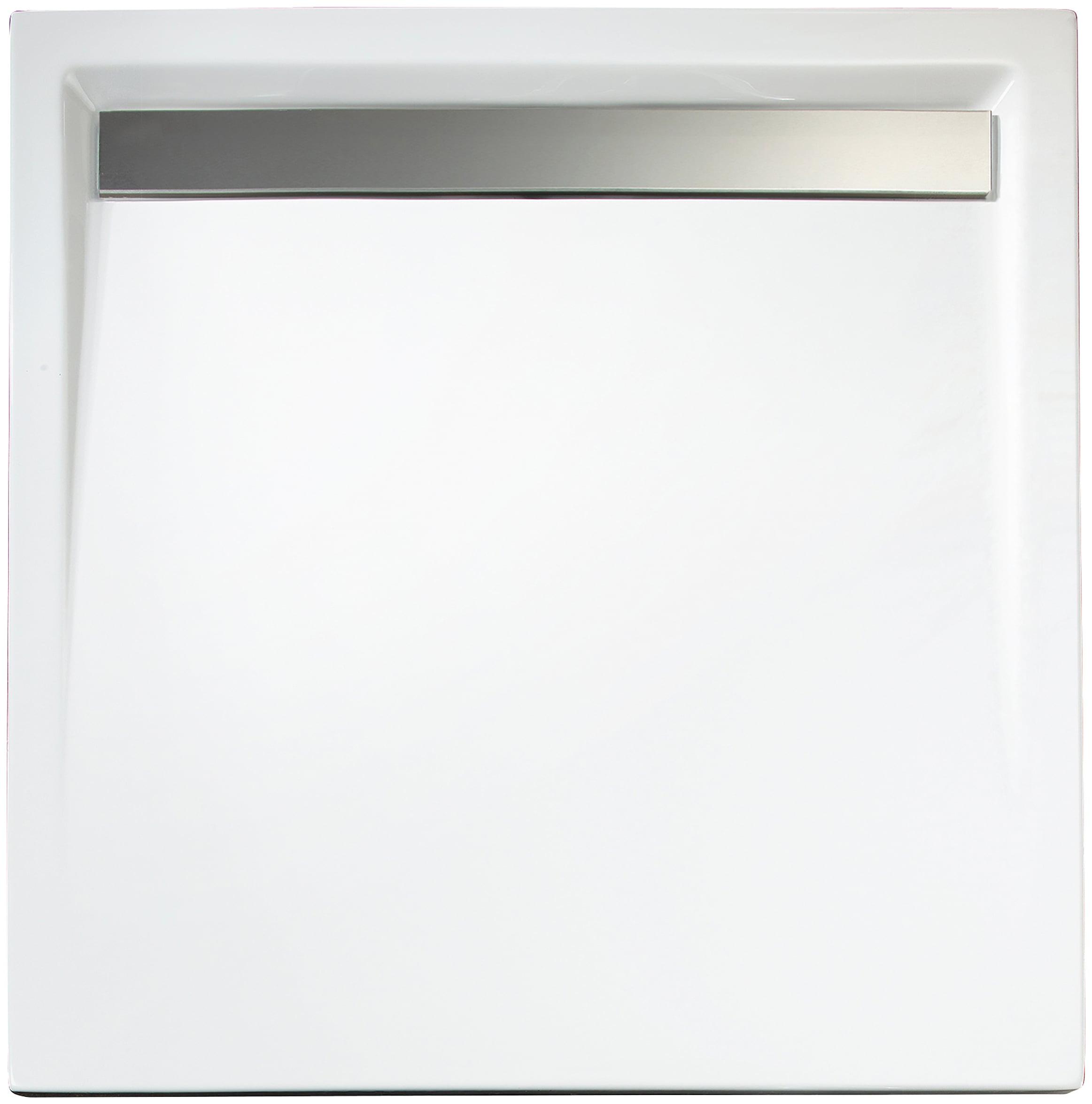 SCHULTE Set: Duschwanne »extra-flach«, rechteckig mit Rinne 90 x 100 cm | Bad > Duschen > Duschwannen | SCHULTE