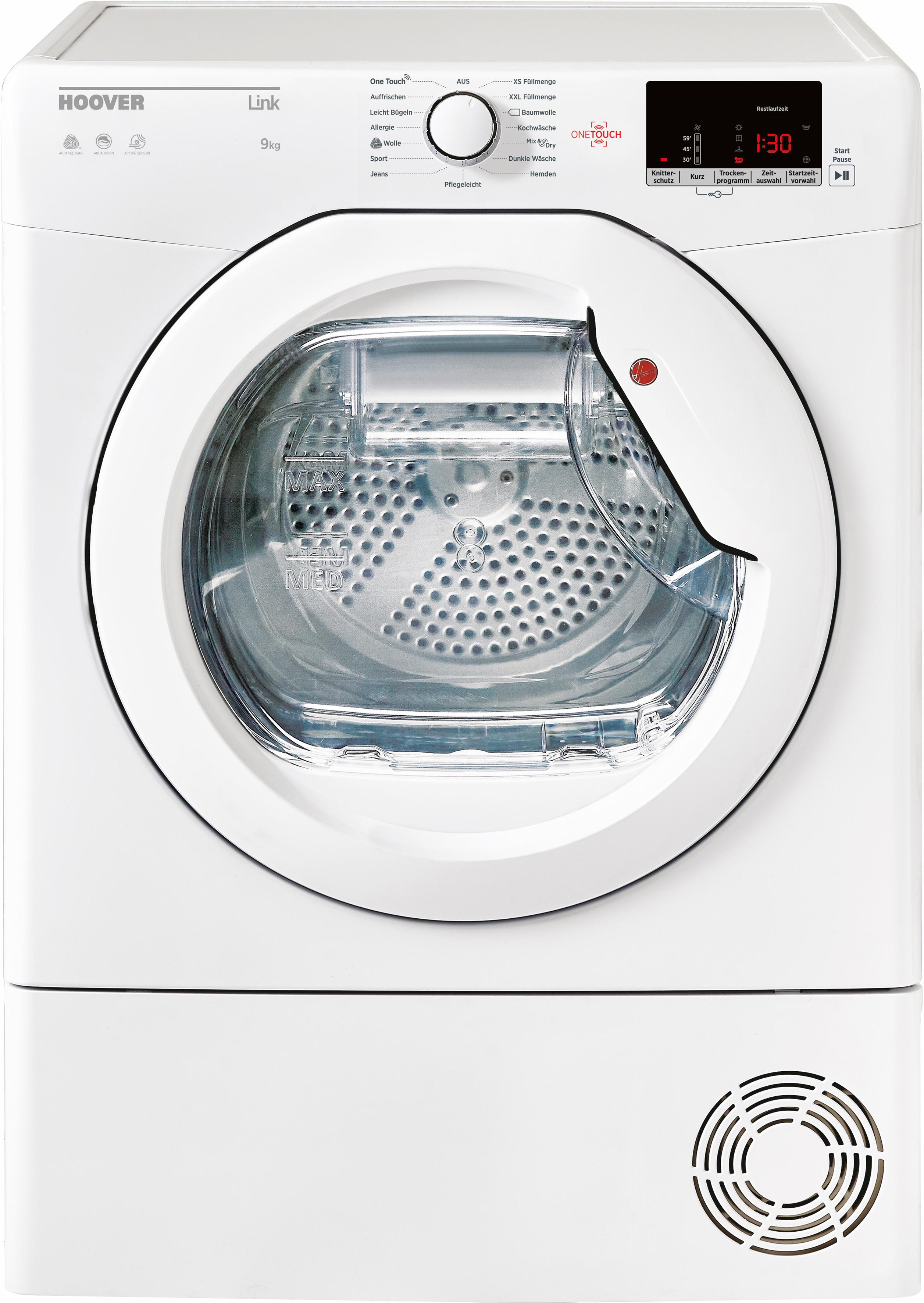 Hoover Kondenstrockner GHL C9DE-84, 9 kg | Bad > Waschmaschinen und Trockner > Kondenstrockner | Hoover