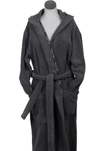 Marc O'Polo Home Unisex-Bademantel »Classic Hood«, Borte mit Markenlogo kaufen
