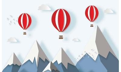 CONSALNET Papiertapete »Kindermotiv Ballon«, in verschiedenen Größen kaufen
