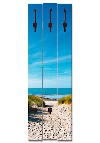 Artland Garderobenpaneel »Strand mit Sanddünen und Weg zur See« kaufen