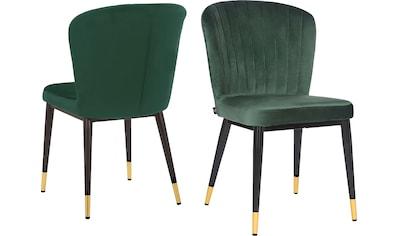 Leonique Esszimmerstuhl »Dinan«, 2er-Set mit gepolstertem Sitz und Rückenlehne,... kaufen
