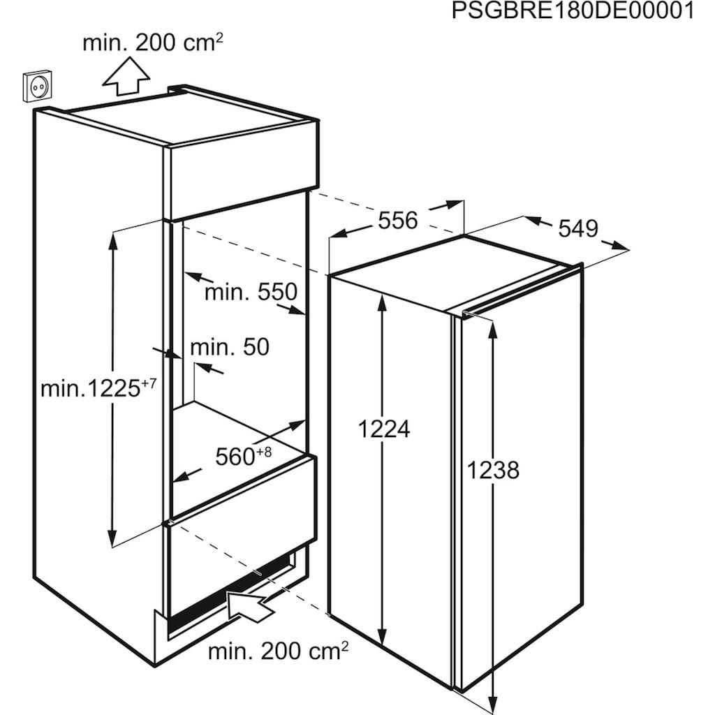 AEG Einbaukühlschrank »SKE612F1AF«, SKE612F1AF, 121,9 cm hoch, 56 cm breit