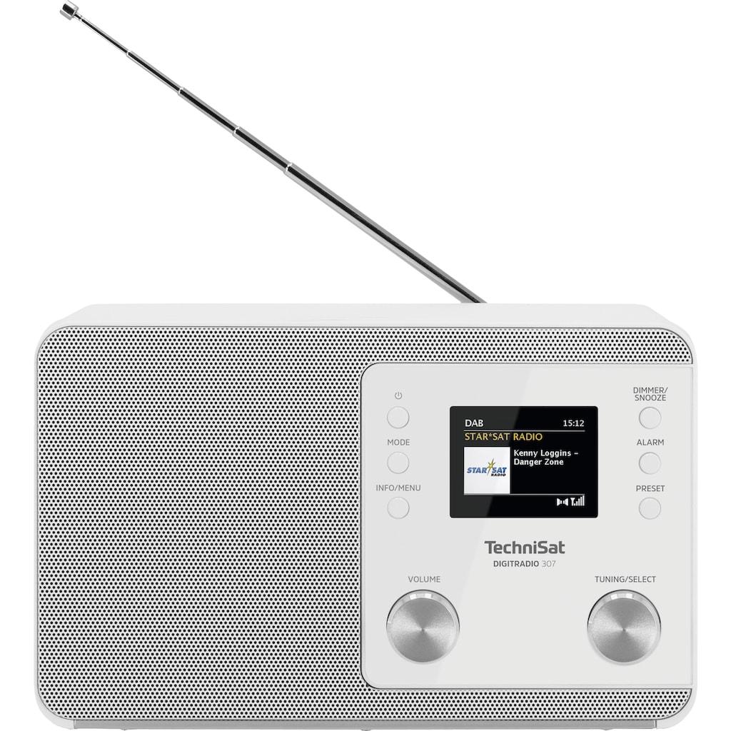 TechniSat Digitalradio (DAB+) »Digitradio 307«, (WLAN UKW mit RDS-Digitalradio (DAB+) 5 W)