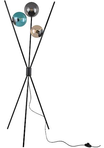 TRIO Leuchten Stehlampe »Lance«, E14, 1 St., Fußschalter, Leuchtmittel tauschbar kaufen