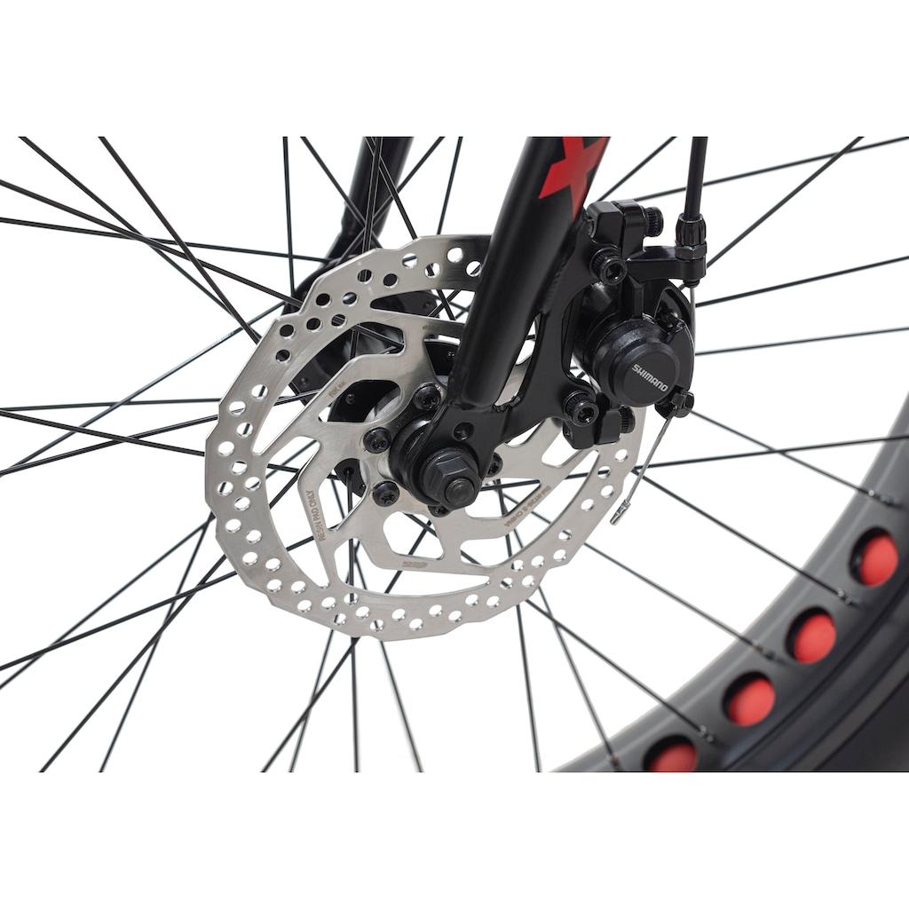KS Cycling Fatbike »SNW2458«, 8 Gang, Shimano, Altus Schaltwerk, Kettenschaltung