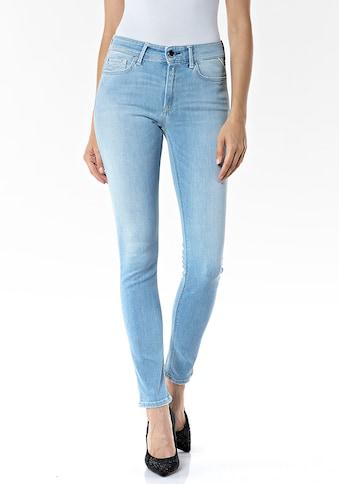 Replay Skinny-fit-Jeans »Luzien«, Powerstretch mit dezenten Used-Effekten kaufen