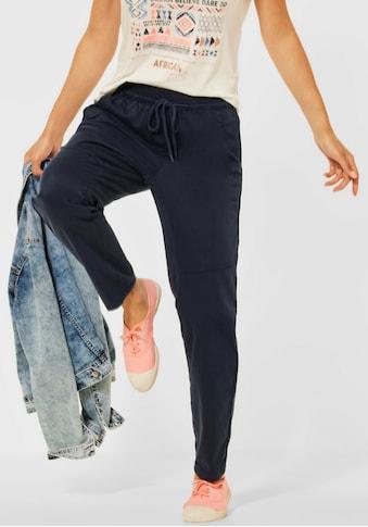 Cecil Jogger Pants »Chelsea«, mit lässigen Ziernähten an den Beinen kaufen