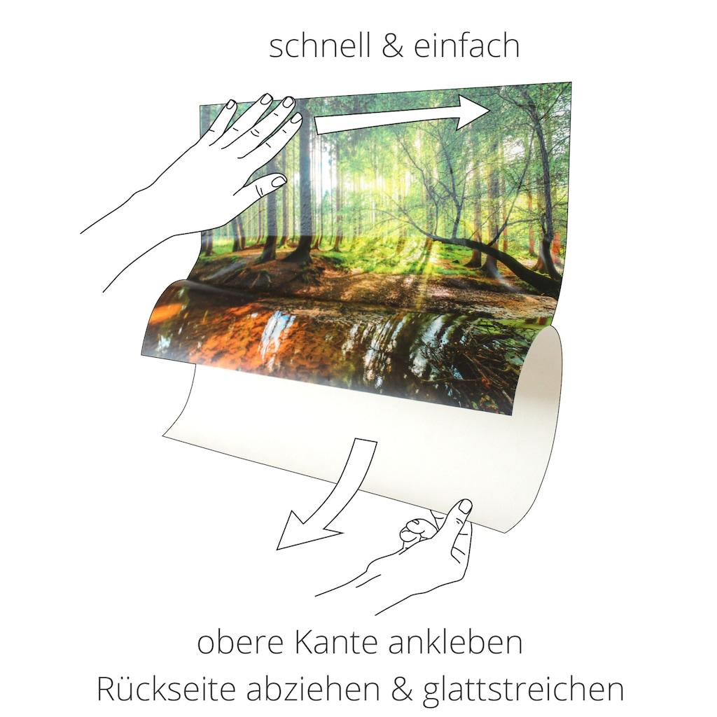 Artland Wandbild »Komm zum Kaffee«, Geschirr & Besteck, (1 St.), in vielen Größen & Produktarten -Leinwandbild, Poster, Wandaufkleber / Wandtattoo auch für Badezimmer geeignet