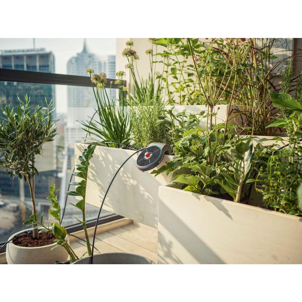 GARDENA Bewässerungssteuerung »AquaBloom«, Solarbetriebene Steuerung