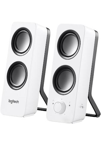 Logitech Lautsprecher »Z200 Stereo Speakers« kaufen