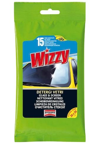 Arexons Glasreiniger »Wizzy PKW-Scheibenreinigung«, (Packung, 15 St.) kaufen