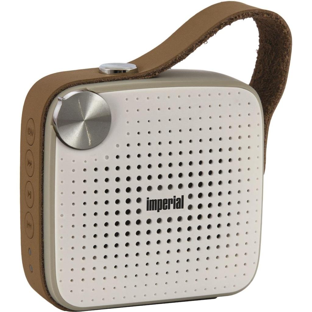 IMPERIAL by TELESTAR Bluetooth-Lautsprecher »BAS 4«, Freisprechfunktion