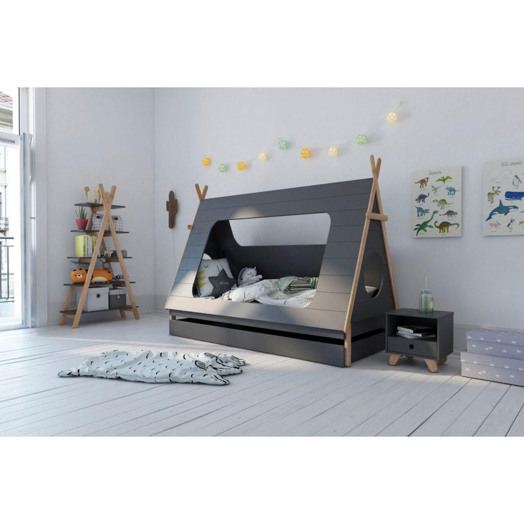 Lüttenhütt Kinderbett »Letty«, in Zeltform