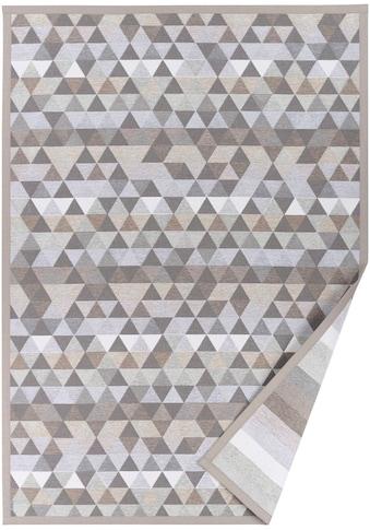 andas Teppich »Eltje«, rechteckig, 7 mm Höhe, Wendeteppich mit zwei Designs, Wohnzimmer kaufen