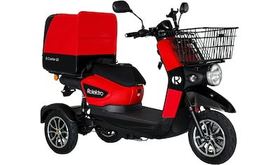 Rolektro Elektromobil »Rolektro E-Carrier 25 V.2, Blei-Gel-Akku«, 1000 W, 25 km/h, (Korb) kaufen