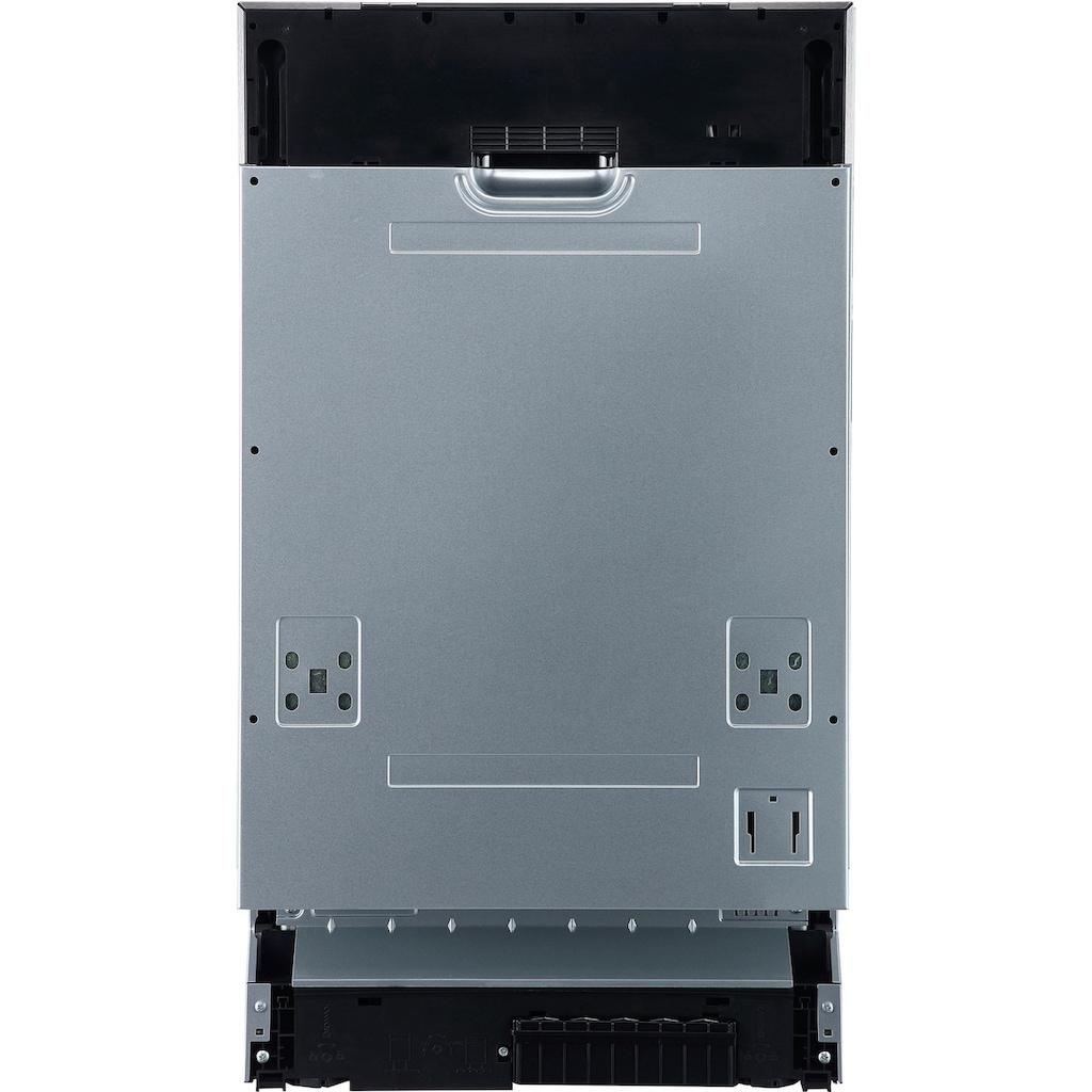 Hanseatic vollintegrierbarer Geschirrspüler »WQP8-J7714D«, WQP8-J7714D, 8 l, 10 Maßgedecke, 45 cm breit