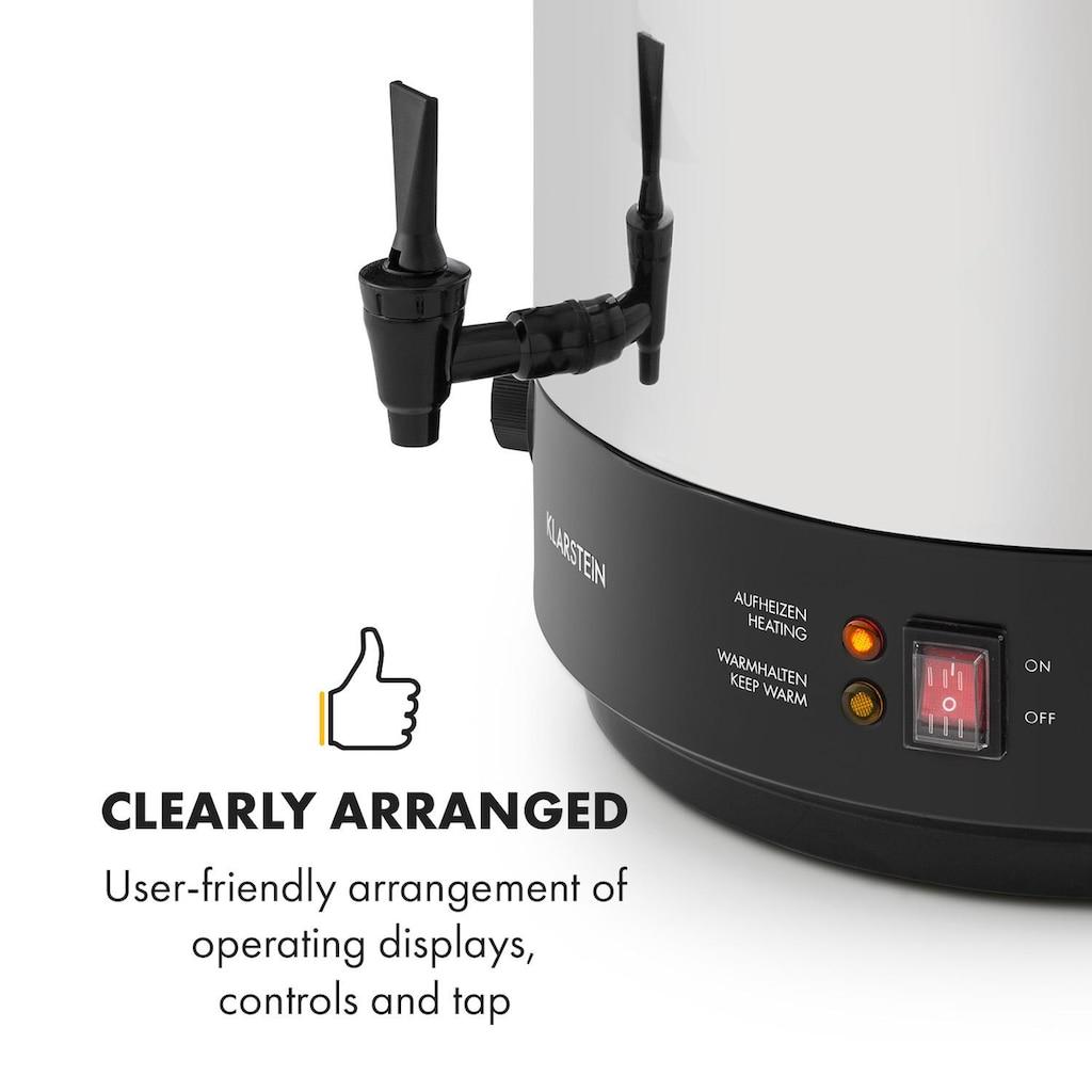 Klarstein KonfiStar 50 Einkochautomat Getränkespender 50L 110°C »Food preser 50L«