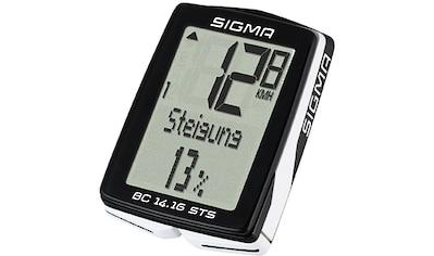 SIGMA SPORT Fahrradcomputer »BC 14.16 STS« kaufen