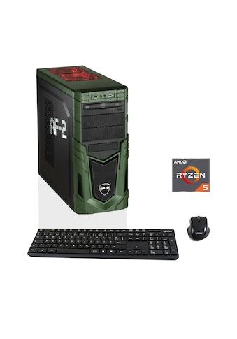 Hyrican »MilitaryGaming 6252« Gaming - PC (AMD, Ryzen 5, RX 580) kaufen