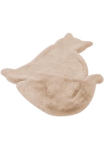 Kinderteppich, »Katze«, Lüttenhütt, Motivform, Höhe 36 mm, handgetuftet kaufen