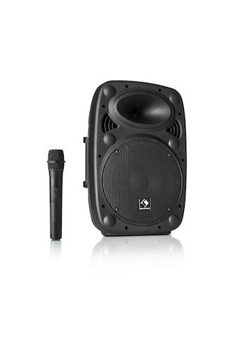 "Auna Streetstar 10 Mobile PA - Anlage 10"" (25,5 cm) Woofer UHF - Mikro »Sky2 - 199.508« kaufen"