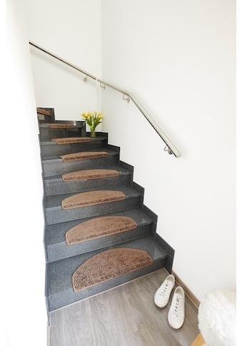 Andiamo Stufenmatte »Shaggy«, rechteckig, 15 mm Höhe, große Farbauswahl, 15 Stück in einem Set kaufen