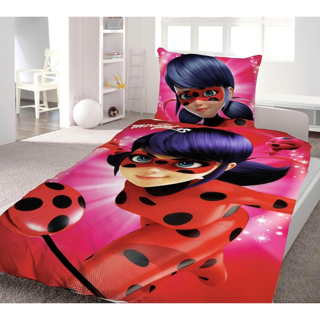 Wendebettwäsche »Ladybug«, Miraculous, mit Helden Motiv