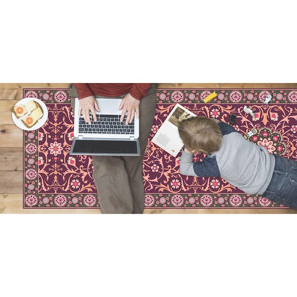 MySpotti Vinylteppich »Buddy Selma«, rechteckig, 0,03 mm Höhe, statisch haftend