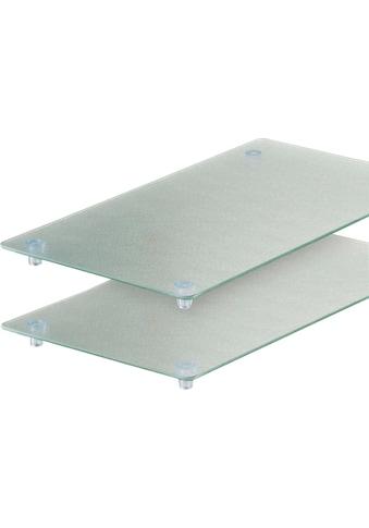 Zeller Present Schneide -  und Abdeckplatte ESG - Sicherheitsglas, (Set, 2 - tlg.) kaufen